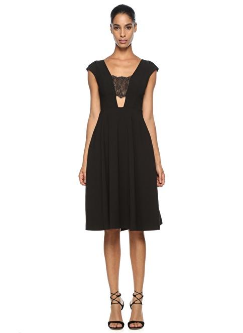 Abs Abiye Elbise Siyah